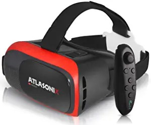 3D Virtual Reality Goggles with Controller by Atlasonix