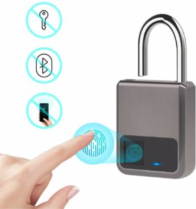 Fingerprint Padlock by Tiffane