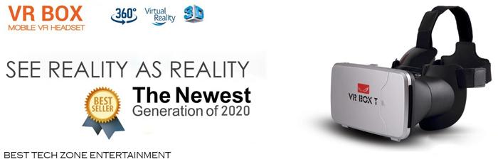 VR headset Banner