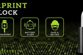fingerprint padLock banner