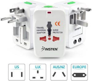 Insten Universal Worldwide Travel Adapter