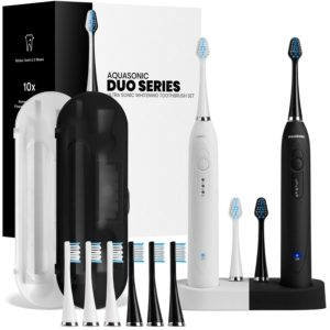 AquaSonic DUO Dual Electric Toothbrush